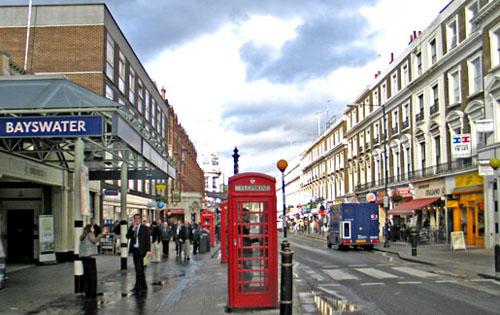 England – Tre områden för boende i London