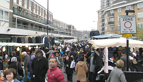 London – Church Street Market