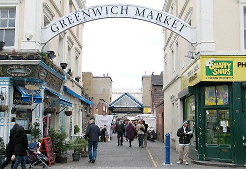 London – Greenwich Market