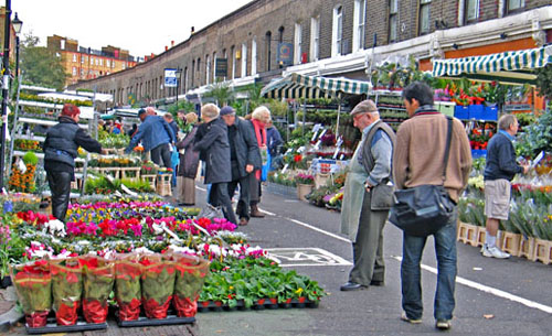 London – Columbia road flower Market