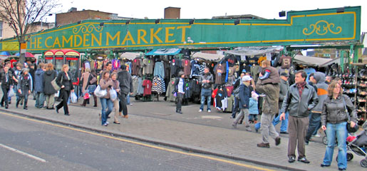 London – Camden Lock Market