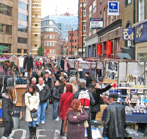 London – Petticoat Lane Market