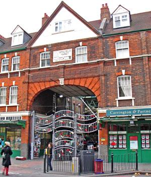 London – Spitafield Market