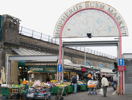 London – Shephers Bush Market