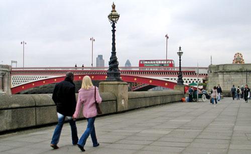 England – Vandringsrutter i London