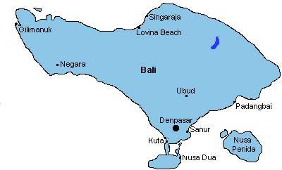 Indonesien – Tåg runt Bali 2014