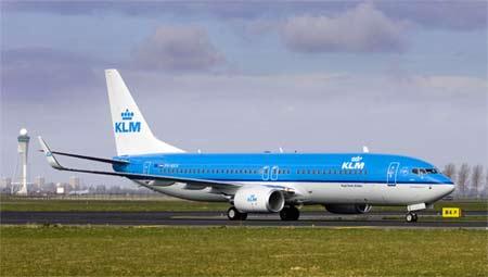 KLM först i världen med biofuel på passagerarflyg