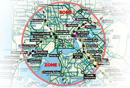 Australien – Res gratis i centrala Perth
