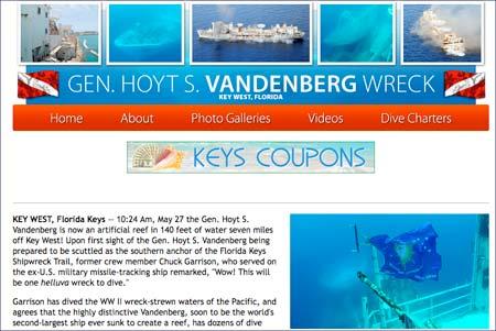 USA – Dykning – Militärskepp är undervattensvärld