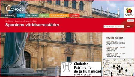 Fakta om Spanska världsarv i 13 städer