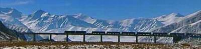 Kina – Tåget upp på världens tak till Lhasa