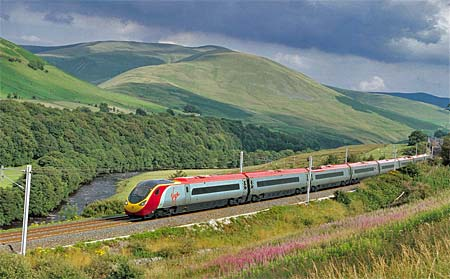 Res med tåg i Storbritannien