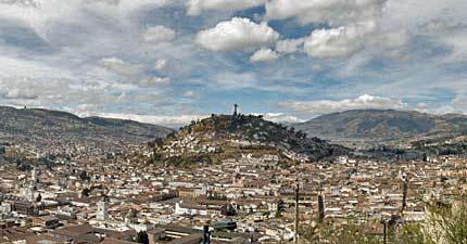 Ecuador – Bästa utsiktsplatserna i Quito