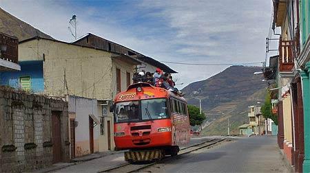Res med Djävulsnäståget i Ecuador