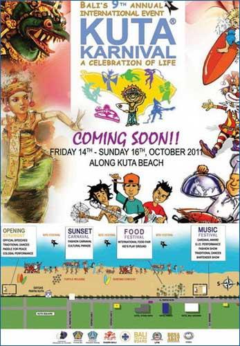 Indonesien – Karneval på Bali