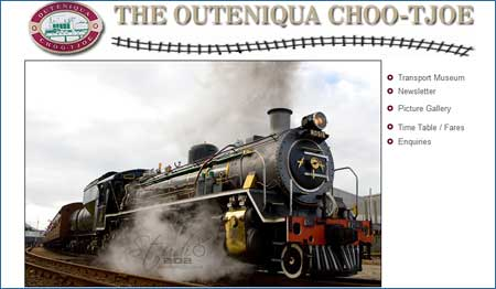 Åk ånglok i Sydafrika och gå på tågmuseum