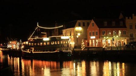 Julmarknad i norra Tyskland