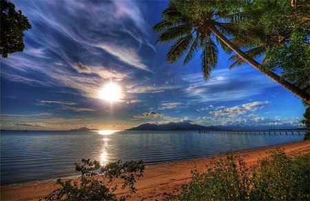 Australien – Softa på 57 km stränder i Queensland