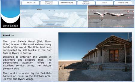 Spektakulärt boende – Salt Moon Hotel – Salar de Uyuni – Bolivia