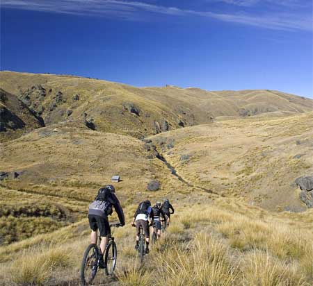 Nya cykelleder öppnade på Nya Zeeland