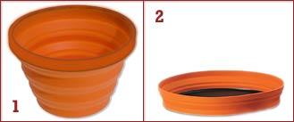 Reseprylar – Ihopvikbar skål som är lätt att packa