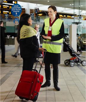 Nya bagageautomater på svenska flygplatser