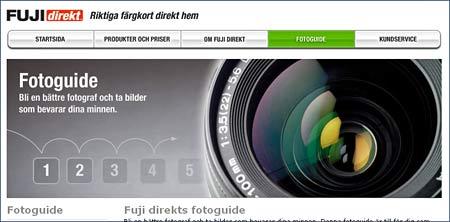 Kodak och Fujis fototips