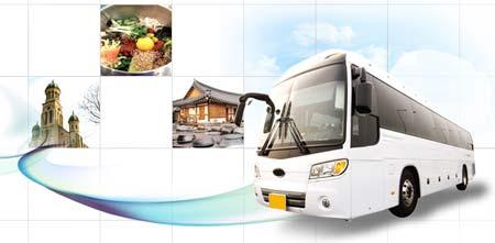 Gratis turistbuss mellan Seoul och Jeonju