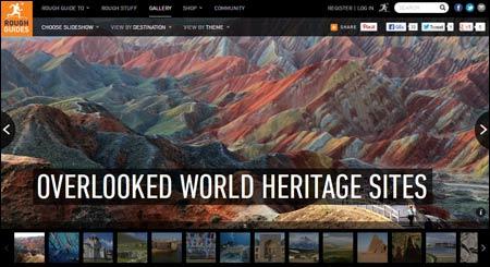 Bildspel om världens världsarv