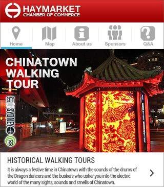 Ny app om Chinatown i Sydney