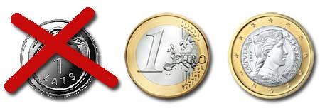 Lettland har nu euro som valuta