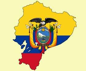 ecuador-karta-flagga-fram