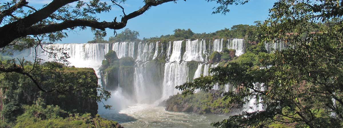 Iguazu, Brasilien och Argentina