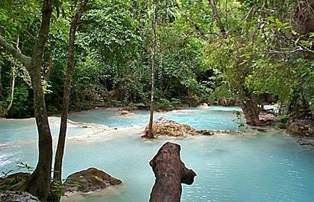 Smultron – Sjufaldigt vattenfall i Erawan