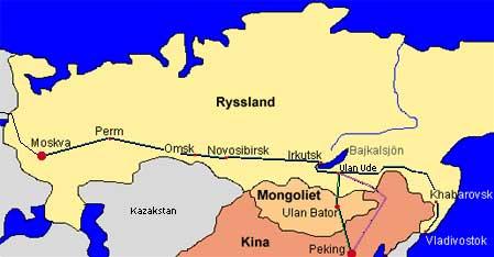 transsibiriska järnvägen karta Transsibiriska Järnvägen 2014 2015 – biljetter och fakta  transsibiriska järnvägen karta